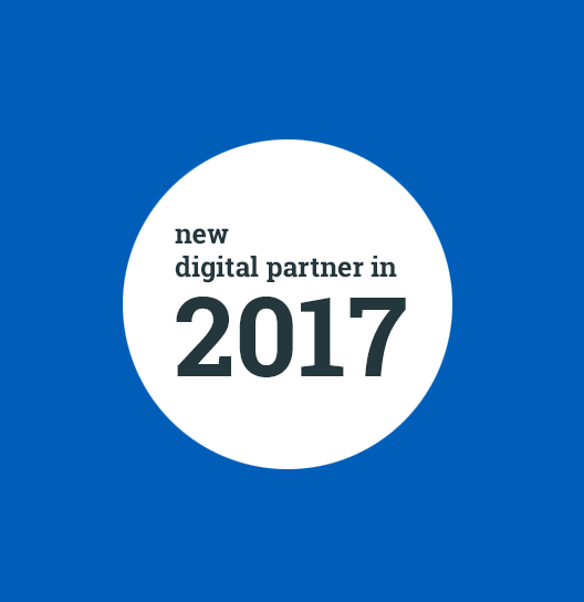 Digital Partner since 2017